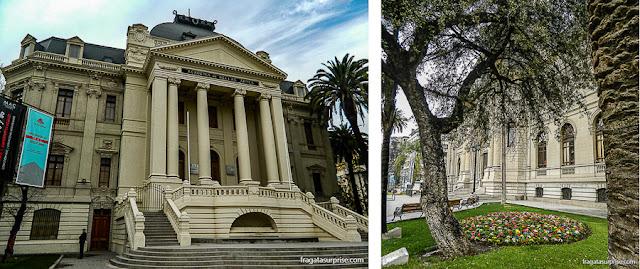 Museu de Belas Artes e Museu de Arte Contemporânea, Santiago do Chile