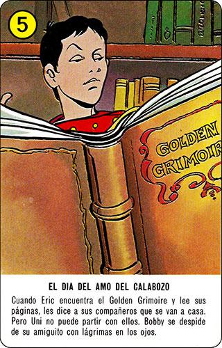 Baraja Dragones y mazmorras Heraclio Fournier Carta amarilla 5