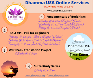Dhamma USA Online Programs