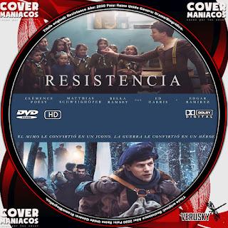 GALLETA RESISTENCIA - RESISTANCE 2020[COVER DVD]