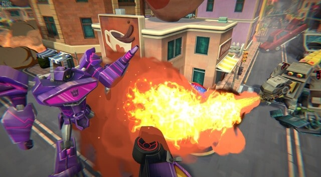 Transformers Battlegrounds Gameplay Screenshots