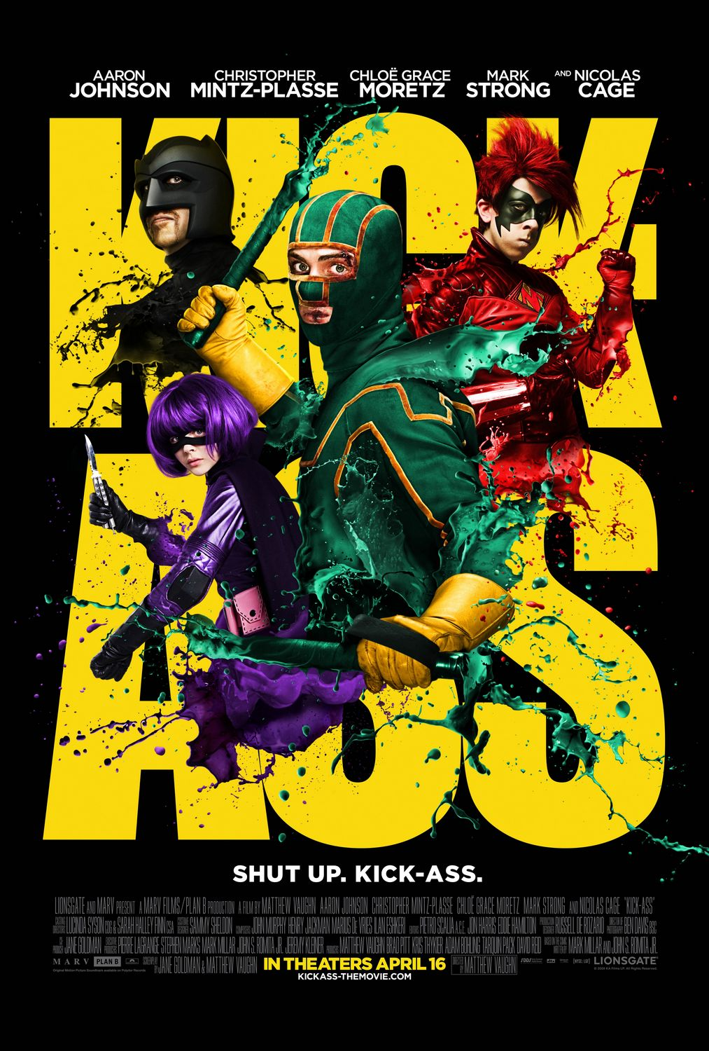 Kick-Ass (2010) ταινιες online seires oipeirates greek subs