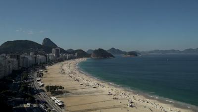 Praia de Copacabana ao vivo