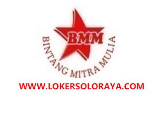 Lowongan Kerja Surakarta Terbaru Bulan Juni 2020 di CV Bintang Mitra Mulia
