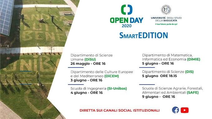 """L'Unibas apre gli """"Open day smart edition"""": orientamento on-line per le future matricole al tempo della pandemia"""