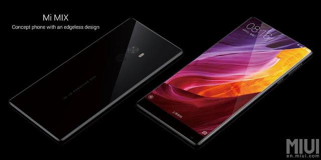Xiaomi Mi Mix resmi diperkenalkan dengan bahan body keramik, 6GB RAM dan 256 MB internal storage