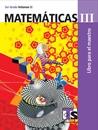 Matemáticas III Volumen II Libro para el Maestro Tercer grado 2016-2017
