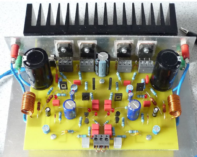 70W Mosfet power amplifier circuit