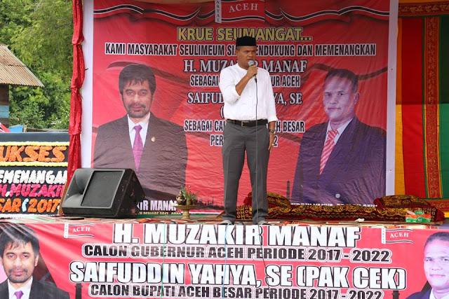 Pak Cek : KPA dan Kader PA Harus Bersatu dengan Rakyat