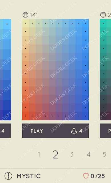 I Love Hue Mystic Level 2 Solution, Cheats, Walkthrough
