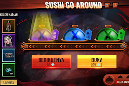 Event Sushi Go Around Free Fire Dapatkan Bundle Mr Death Permanen