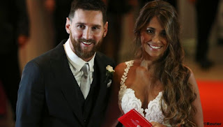 Messi got married