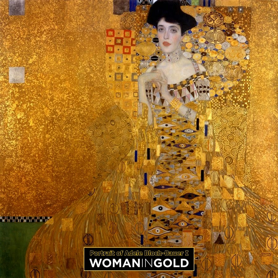 Portrait of Adele Bloch-Bauer I-The Lady in Gold