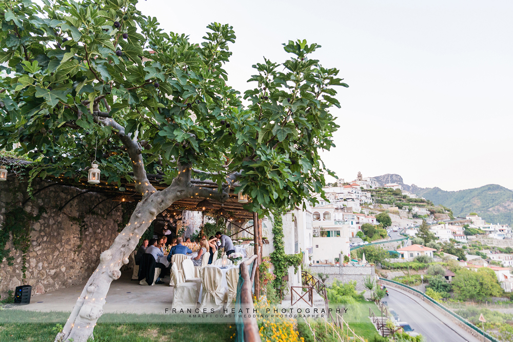 Rustic ravello wedding
