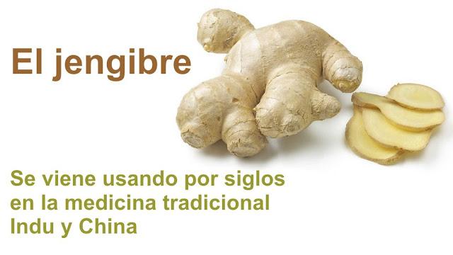 El jengibre se viene usando por siglos en la medicina tradicional indu y china