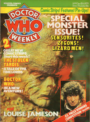 Doctor Who Weekly #9, the Zygons