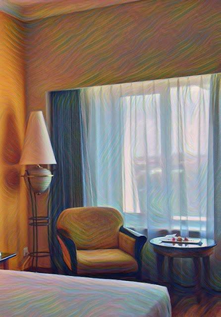 Sudut Kamar Hotel Novotel Yogyakarta