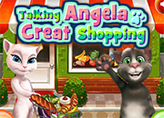 Talking Angela Great Shopping 2 juego