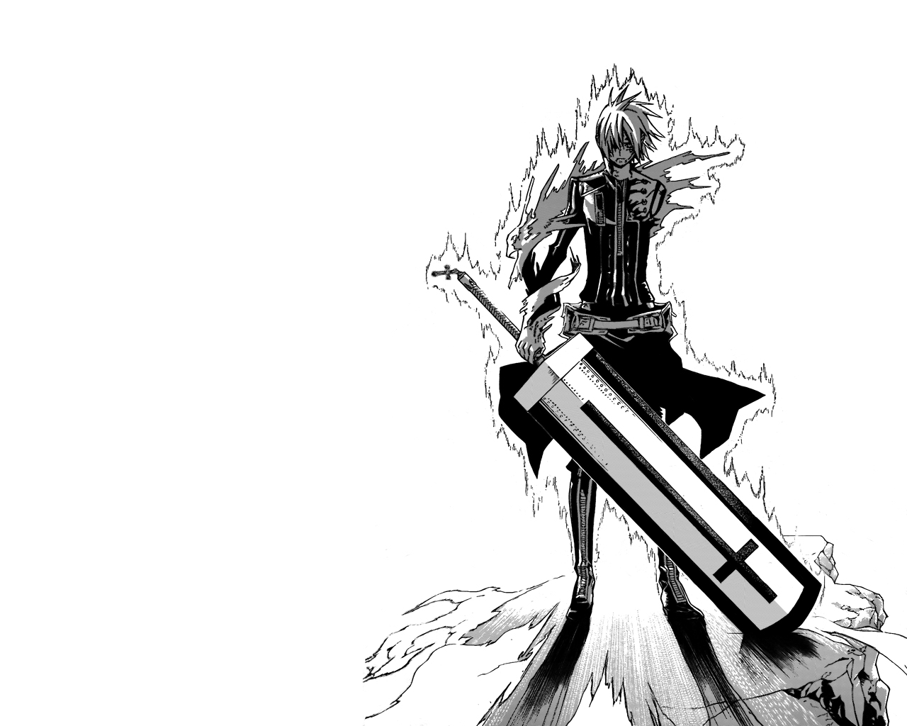 Wallpaper D Gray Man Hd