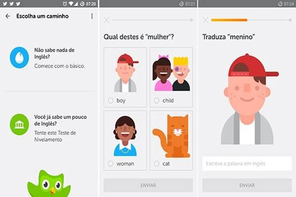 Duolingo ajuda usuário a aumentar seu vocabulário e compreensão do Inglês gratuitamente