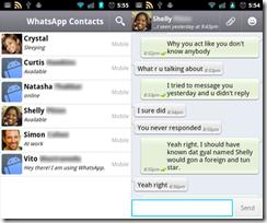 clock scale: WhatsApp & Alternatives