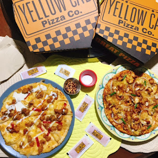 Yellow Cab Celebrates 20th Anniversary with Limited Edition Charlie Chan Pizza and Hot Chix Pizza