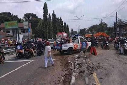 Berita hari ini Kronologi kecelakaan Purwodadi Pasuruan