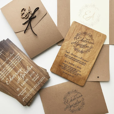 K'Mich Weddings - wedding planning - wedding rustic invitations -Svetlana