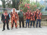 Jalin Silaturahmi, Babinsa Koramil 19/ND Laksanakan Komsos dengan Ketua Pemuda Pancasila