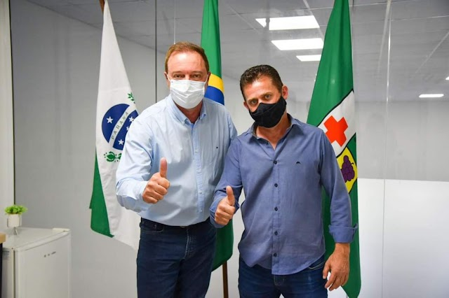 Vereador Ratinho aceita.convite para ser Secretário de Esporte, cultura, lazer e juventude
