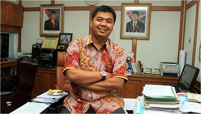 Ketua KPU yang baru, Juri Ardiantoro