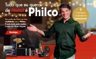 Cadastrar Promoção Philco Natal 2019 - Kits Produtos Entregue Olivier Anquier