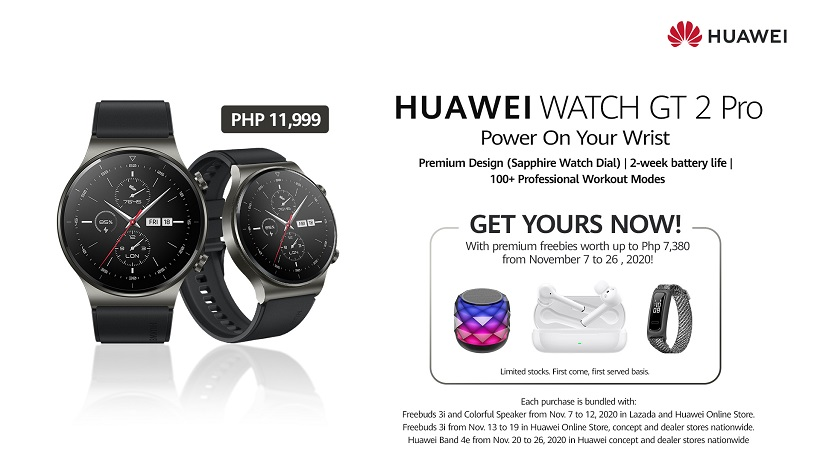 Huawei Watch GT 2 Pro Philippines