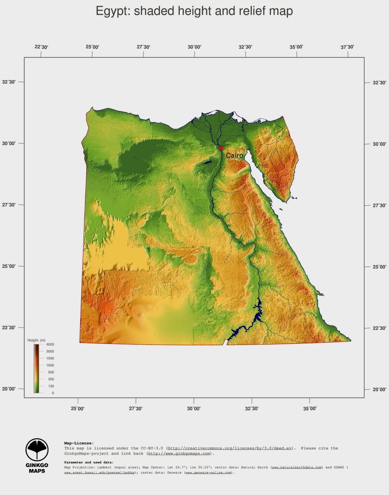 Free Maps Download Egypt Map