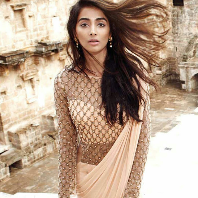 Pooja Hegde Photoshoot for Elle India Magazine 2016 pics