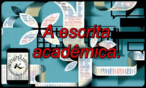 Revisão de textos integra o ciclo da redação acadêmica.