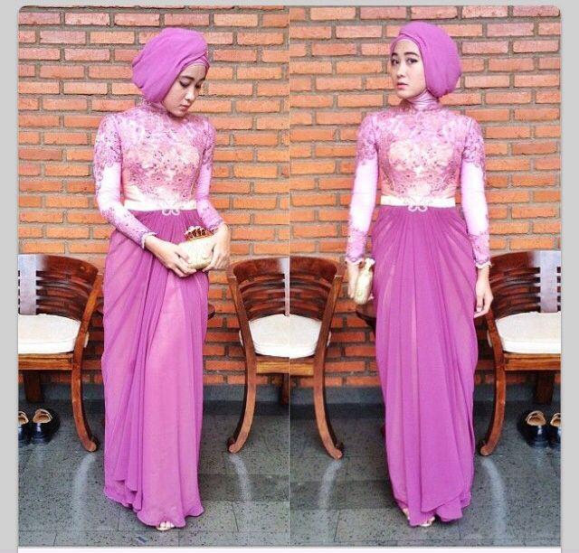 25 Model Kebaya Muslim Cantik Modern Terbaru