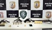 Polícia apreensão de drogas, armas e munições em São Luís