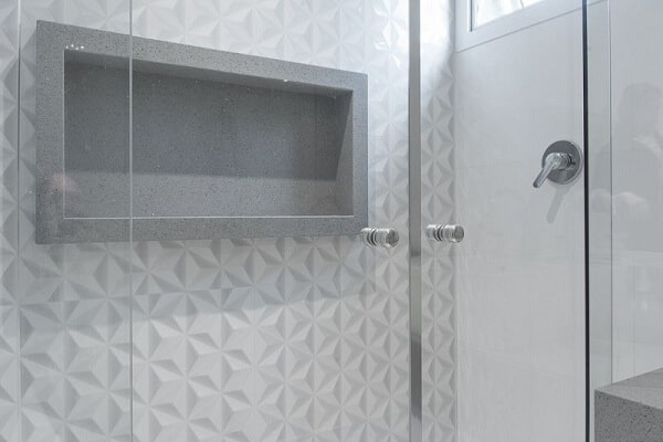 3D bathroom coating brought a special finish to the box