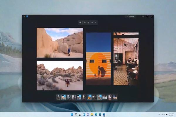 بالصور: مايكروسوفت تبدأ في اختبار تصميمها الجديد لتطبيقها للصور على ويندوز 11 .