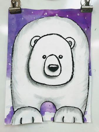 Snow Bear book review and follow-up activities you don't want to miss!