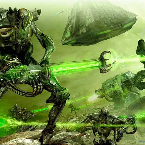 Necrons Wallpaper Engine