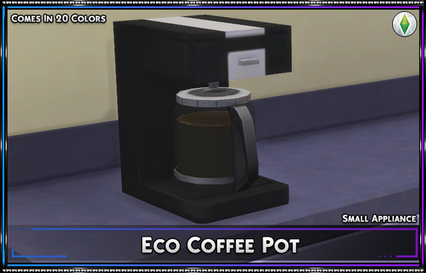 Eco Coffee Pot