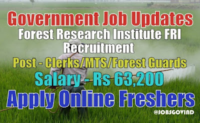 FRI Recruitment 2021