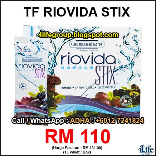 foto 4Life Transfer Factor Riovida Stix