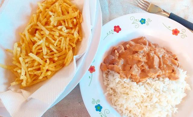 Strogonoff-de-Soja-Feito-com-Creme-de-Leite-e-Ketchup