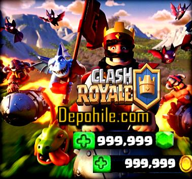 Clash Royale 3.2.1 Overthrow Sınırsız Elmas Hileli Mod Apk İndir 2020
