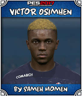 PES 2017 Faces Victor Osimhen by Sameh Momen