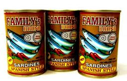 List of Sardines or Sardinas Products in the Philippines