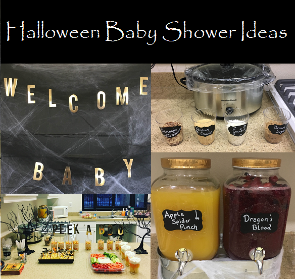 Halloween Themed Baby Shower For Girl